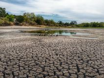 Severe Drought Conditions Royalty Free Stock Images