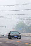 Severe smog lies like a shroud over Beijing, China Stock Photos