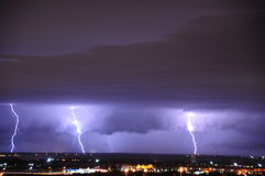 Severe Squall Line 6-20-2011 Royalty Free Stock Photo