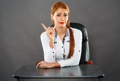 Severe teacher Stock Photo