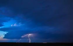 Severe thunderstorm Stock Photo