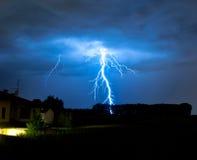 Severe thunderstorm Stock Image