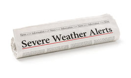 Severe Weather Alerts Stock Photography