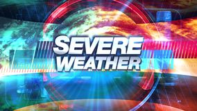 Severe Weather - Broadcast TV Graphics Title