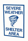 Severe Weather Sign Royalty Free Stock Images