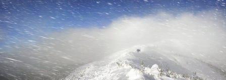 Severe winter landscape Royalty Free Stock Photos