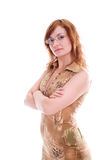 Severe woman Stock Image