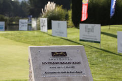 Severiano Ballesteros , Masters 13, Pont Royal, 2013 Stock Image