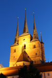 Severikirche in Erfurt, Germany Stock Image