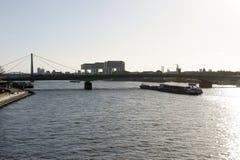 Severin Bridge Cologne Stock Image