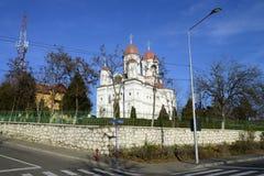 Severin city Grecescu Church Royalty Free Stock Photography