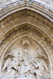 severin ST του Παρισιού λεπτομέρειας εκκλησιών Στοκ εικόνες με δικαίωμα ελεύθερης χρήσης