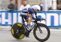Severine Eraud, Франция. Championshi мира дороги UCI Стоковое Фото