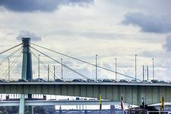 Severinsbridge in Köln Lizenzfreie Stockfotos