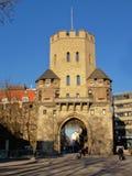 ` Severinstor `, μεσαιωνική πύλη πόλεων, Κολωνία Στοκ Εικόνα