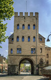 Severinstor (城市门Severin),科隆,德国 库存图片