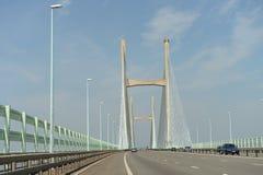 Severn桥梁 库存照片