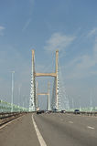 Severn桥梁 免版税库存照片