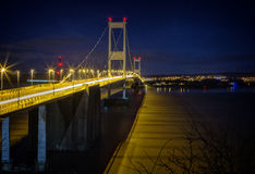 severn的桥梁 免版税库存照片