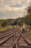 Severn谷铁路, Highley 库存图片