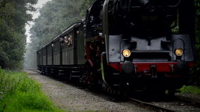 severn κοιλάδα τραίνων ατμού σιδηροδρόμων της Αγγλίας απόθεμα βίντεο