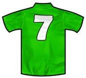 severn绿色的衬衣 库存照片