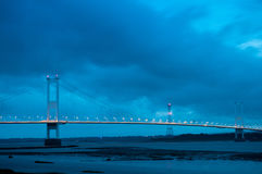 Severn Bridge Royalty Free Stock Photography