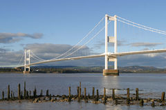 The Severn Bridge Stock Image
