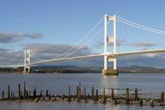 The Severn Bridge Stock Image