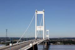 Severn Bridge, United Kingdom Stock Image