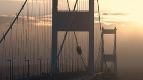 Severn most nad rzecznym Severn ujściem zdjęcie wideo