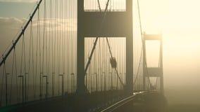 Severn most nad rzecznym Severn ujściem zbiory wideo
