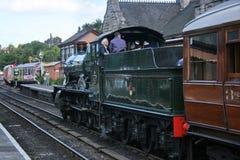 Severn Valley Railway, comt? Durham, R-U, septembre 2009, une vue de Severn Valley Railway historique photos stock