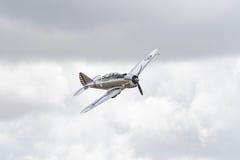 Seversky P-35 on display Stock Photo