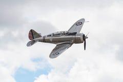 Seversky P-35 on display Stock Photos
