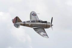 Seversky P-35 on display Stock Image