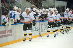 Severstal Scored a goal Royalty Free Stock Image