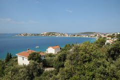 Sevid-Küste lizenzfreie stockfotos