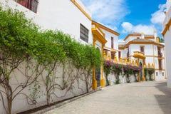 Sevilha, a Andaluzia, plaza famosa velha de toros fotos de stock royalty free