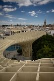Sevilha, Espanha, a Andaluzia - parasol de Metropol foto de stock royalty free
