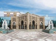 Sevilha, Espanha - 12 de fevereiro de 2015: Ilha do Charterhouse A exposição universal de Sevilha Pavilhão marroquino imagens de stock royalty free