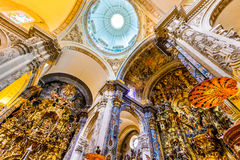 Sevilha, Espanha - EL Salvado da igreja Imagens de Stock Royalty Free