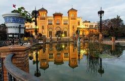 Sevilha, museu de artes populares Fotos de Stock Royalty Free