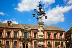 Sevilha Palacio Arzobispal de Sevilla Andalusia foto de stock royalty free
