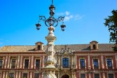 Sevilha Palacio Arzobispal de Sevilla Andalusia imagem de stock royalty free