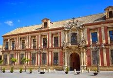 Sevilha Palacio Arzobispal de Sevilla Andalusia imagens de stock royalty free