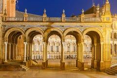 Sevilha Quadrado espanhol fotografia de stock royalty free