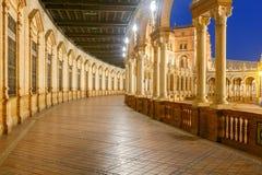 Sevilha Quadrado espanhol fotos de stock