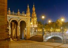 Sevilha Quadrado espanhol foto de stock royalty free