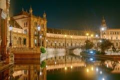 Sevilha Quadrado espanhol fotos de stock royalty free